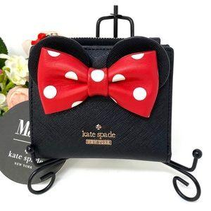 Kate ♠️Spade & Disney Minnie Mouse Adalyn Black Le